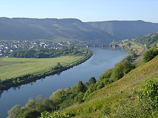 Wintrich Place in Rhineland-Palatinate, Germany