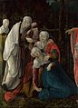Wolf Huber - Christ taking leave of his Mother (National Gallery, London).jpg