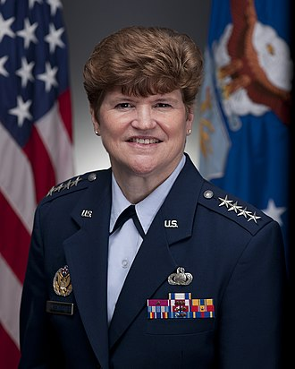 Women in the Air Force - General Janet C. Wolfenbarger is the highest-ranking woman in the USAF.
