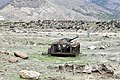 Wreck of a Soviet armored vehicle in Afghanistan.jpg