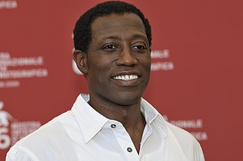 English: Wesley Snipes at 2009 Venice Film Fes...