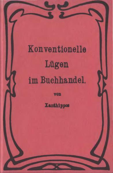 File:Xanthippos Konventionelle Luegen im Buchhandel.djvu