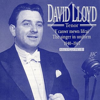 David Lloyd (tenor) - Image: Y Canwr Mewn Lifrai (1940 41), album cover