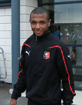 Black people - Algerian footballer Yacine Brahimi