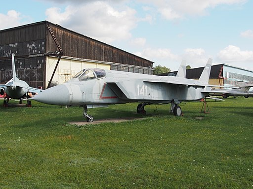 Yak-141 (141) at Central Air Force Museum pic1