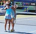 Yaroslava Shvedova and Sania Mirza (5996388850).jpg
