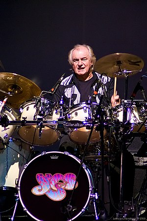 Alan White (Yes drummer) - White performing in 2010