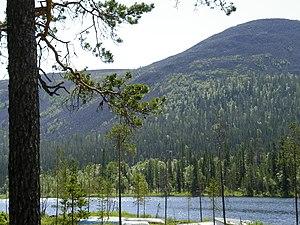 Kolari - Lake Kesänki at Ylläs