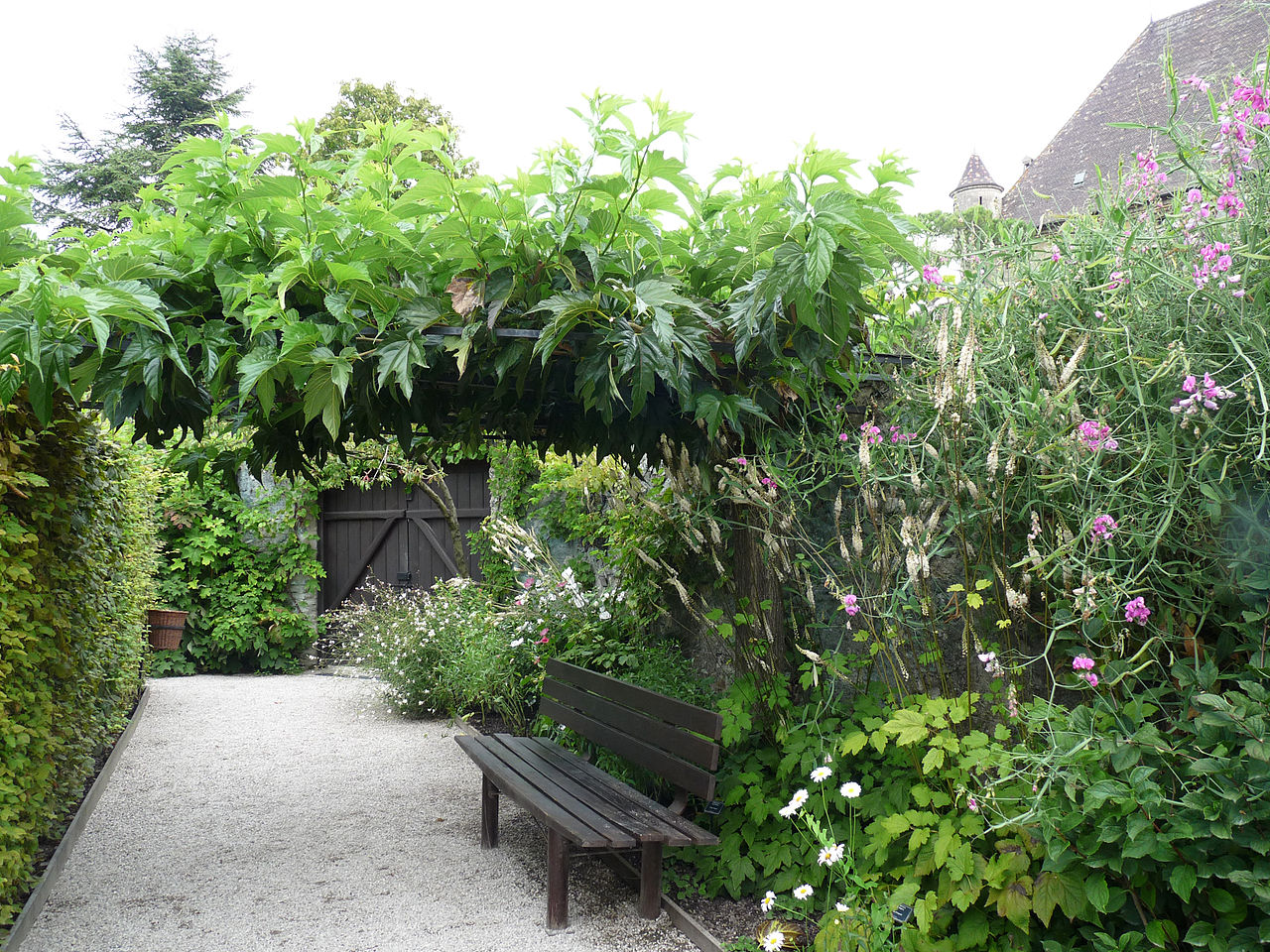 File yvoire jardin des cinq sens 9 jpg wikimedia commons for Jardin 44 des 5 sens