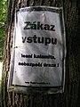 Zákaz vstupu, lesní kalamita.jpg