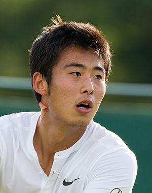 Zhang Ze - Image: Ze Zhang 5, 2015 Wimbledon Qualifying Diliff