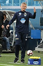 8045ee027b6 Solskjær as manager of Molde in 2018