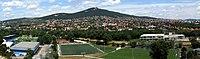 Zobor - pohled z hradu.JPG