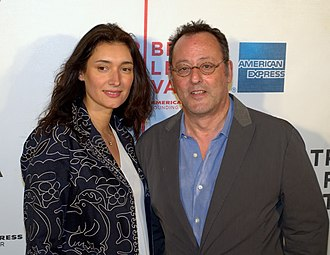 Jean Reno - Reno with his wife Zofia Borucka at the 2010 Tribeca Film Festival