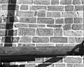 Zuid-gevel ( exterieur ) stenen ter plaatse van voormalige steunbeer - Hoorn (Terschelling) - 20116808 - RCE.jpg
