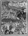 """Assad Ibn Kariba Launches a Night Attack on the Camp of Malik Iraj"", Folio from a Hamzanama (The Adventures of Hamza) MET 38484(2).jpg"