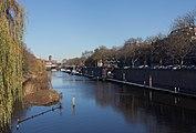 's-Hertogenbosch, de Dommel vanaf de brug-Stationsweg foto5 2016-12-04 12.13.jpg