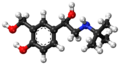 (S)-Salbutamol ball-and-stick model.png