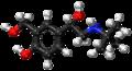 (S)-Salbutamol ball-and-stick model.png