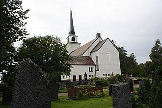 Ähtäri - Ähäri Church was designed by architect Bertel Liljequist, and built in 1937.