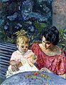 Édouard Vuillard - Madeleine Descorps et son fils Bernard.jpg