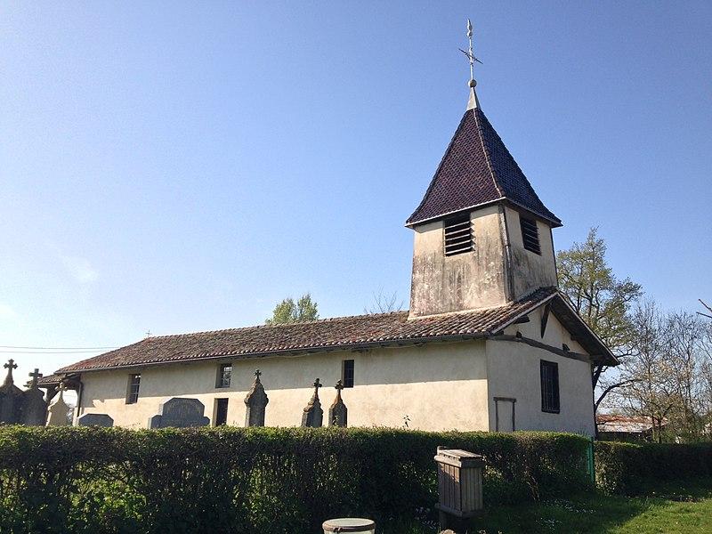 Église de Saint Sulpice dans l'Ain