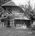 Čebelnjak s kozolcem, Brinje 1961.jpg