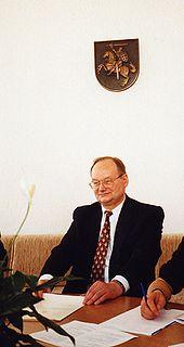 Česlovas Juršėnas Lithuanian politician