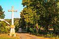 Řečice u Lipnice nad Sázavou - kříž u kostela.jpg