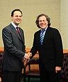 Συνάντηση ΥΠΕΞ κ. Δ. Δρούτσα με ΥΠΕΞ Ουρουγουάης κ. Luis Almagro (5030368624).jpg