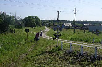 Bryansk Oblast - Railway tracks in Bryansk Oblast