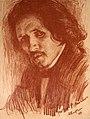 Бакст Лев. Портрет Филиппа Малявина. 1899.jpg