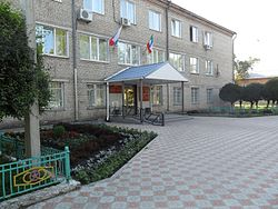 Administration building in Beya, Beysky District