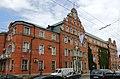 Бывшее здание полицейского президиума с рельефами на портале главного входа, проспект Советский, 3, Калининград.jpg