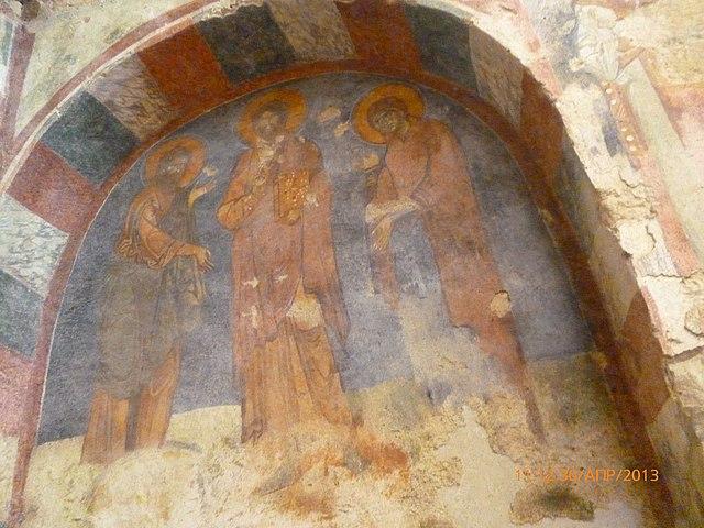 Внутренний вид церкви Святого Николая в Демре