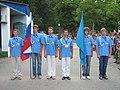 """Вожатые отряда """"Пламенный"""" (Пенза) готовятся к передаче знамен.jpg"""