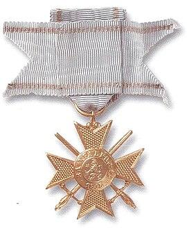 """Войнишки знак на ордена """"За Храброст"""