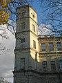 Гатчинский парк. Башня северного фасада дворца.jpg
