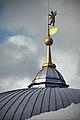 Гостиный двор, флюгер купола с гербом Ярославля.jpg