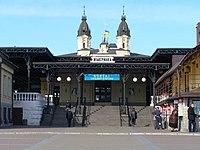 Жмеринка, Залізничний вокзал, вул. Вокзальна.jpg