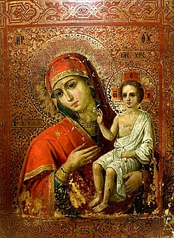 Воспитание (икона Божией Матери) — Википедия