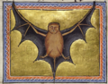 Летучая мышь. Миниатюра из Абердинского бестиария.png