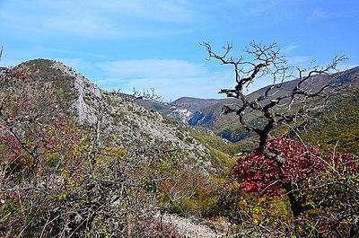 На межi осенi - Великий каньйон Криму.jpg