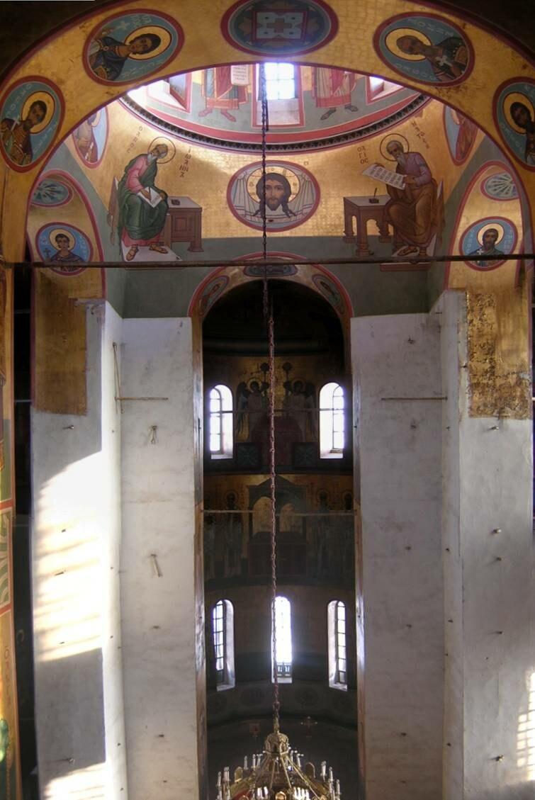 Фрески Георгиевского собора Юрьва монастыря