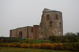 Церковь Благовещения на Рюриковом Городище (руины) (вид с Юго-Востока).JPG