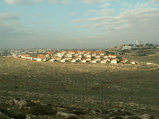 Beit Hagai Israeli settlement in the West Bank