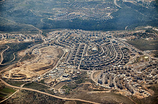 Modiin Illit Place in West Bank, Israel