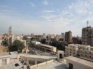الزقازيق - صورة من أعلى مستشفي جامعة الزقازيق.jpg