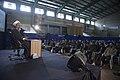 سخنرانی علیرضا پناهیان در جمع هیئت های مذهبی در قصر شیرین به مناسبت بیست و دوم بهمن ماه Alireza Panahian 43.jpg