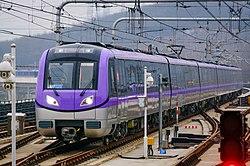 南京地铁4号线04-029030驶入仙林湖站.jpg